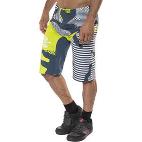 100% R-Core X DH - Culotte corto sin tirantes Hombre - verde/blanco